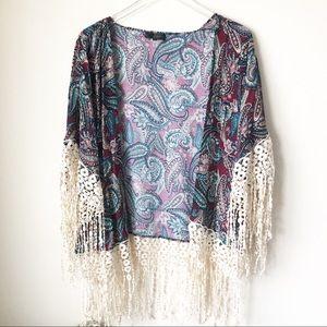 Boutique | Paisley print kimono